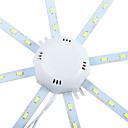 رخيصةأون إضاءات السقف LED-YWXLIGHT® 1PC 10 W 960 lm 24 الخرز LED SMD 5730 ديكور أبيض كول 220-240 V / قطعة / بنفايات
