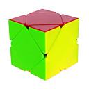billige Magnetiske puslespil-Rubiks terning QI YI Alien Skewb Cube Let Glidende Speedcube Magiske terninger Puslespil Terning Professionelt niveau Hastighed Klassisk & Tidløs Børne Voksne Legetøj Drenge Pige Gave