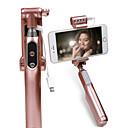 baratos Câmeras de Rede IP de Exterior-Selfie Stick bluetooth extensível com stick selfie para palhetas Selfie