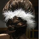 abordables Lámparas de Noche-Pasador Accesorios para el cabello Pluma Accesorios pelucas Mujer PC 1-5cm cm