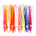 cheap Fishing Lures & Flies-10pcs pcs Fishing Lures Soft Jerkbaits Octopus Soft Bait Soft Plastic Multifunction Sea Fishing Bait Casting Spinning Jigging Fishing