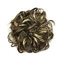 preiswerte Haarteil-Synthetische Perücken / Chignons / Haarknoten Locken / Klassisch Stufenhaarschnitt Synthetische Haare Updo Perücke Damen Kurz