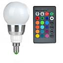 abordables Accesorios LED-100-200 lm E14 Bombillas LED de Globo A50 1 Cuentas LED LED de Alta Potencia Control Remoto RGB 85-265 V / 1 pieza