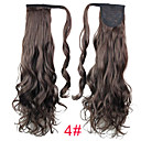 cheap Hair Pieces-Clip In Ponytails Synthetic Hair Hair Piece Hair Extension Curly