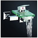 preiswerte Waschschalen und Aufsatz-Waschbecken-Badewannenarmaturen - Moderne Chrom Badewanne & Dusche Keramisches Ventil