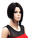 cheap Motorcycle & ATV Parts-Synthetic Wig Straight Bob Haircut Synthetic Hair Natural Hairline Black Wig Women's Short Capless