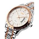 זול שעוני ספורט-SKMEI בגדי ריקוד גברים שעון יד לוח שנה / עמיד במים מתכת אל חלד להקה קסם כסף