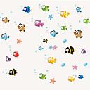 preiswerte Wand-Sticker-Kühlschrank Sticker - Tier Wandaufkleber Tiere / Stillleben / Mode Wohnzimmer / Schlafzimmer / Esszimmer / Abziehbar