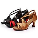 hesapli Latin Dans Ayakkabıları-Kişiye Özel-Saten / Yapay Deri-Latin-Kadın-Kişiselleştirilmiş