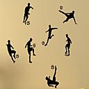 voordelige Muurstickers-Mensen Stilleven Vormen 3D Sporten Vrije tijd Muurstickers Vliegtuig Muurstickers Decoratieve Muurstickers, Vinyl Huisdecoratie