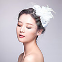 cheap Party Headpieces-Tulle Fabric Fascinators 1 Wedding Special Occasion Headpiece