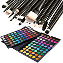 cheap Eye Kits & Palettes-Eyeshadow Palette Powders Makeup Brushes Makeup Eye Dry Matte Shimmer Waterproof Shimmer glitter gloss Coloured gloss 120 Cosmetic Grooming Supplies