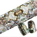 baratos Papel Alumínio para Unhas-1 pcs Pontas de Unha Completa Jóias de Unhas arte de unha Manicure e pedicure Adorável Abstracto / Desenho / Casamento Diário / Jóias de unha