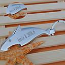 billige Nøkkelringer-tilpassede produkter-Lomme favoriserer Rustfritt Stål Deler / Sett