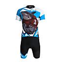 baratos Camisas & Shorts/Calças de Ciclismo-ILPALADINO Homens Manga Curta Camisa com Shorts para Ciclismo - Preto Moto Shorts Camisa/Roupas Para Esporte Conjuntos de Roupas, Tapete