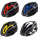 cheap Bike Helmets-Adults Bike Helmet 19 Vents Impact Resistant, Light Weight, Adjustable Fit EPS Sports Road Cycling / Recreational Cycling / Cycling / Bike - Yellow / Red / Blue / Ventilation