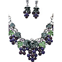 cheap Jewelry Sets-Women's Jewelry Set - Rhinestone Vintage, European, Fashion Include Necklace / Earrings Assorted Color For Wedding Party Daily