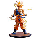 cheap Anime Action Figures-Anime Action Figures Inspired by Dragon Ball Cosplay PVC(PolyVinyl Chloride) 17 cm CM Model Toys Doll Toy