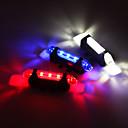 tanie Światła rowerowe-Tylna lampka rowerowa / światła bezpieczeństwa / Światła tylne DOPROWADZIŁO Kolarstwo Z baterią, 3D, Łatwa instalacja Akumulator 80 lm Wbudowany akumulator litowo-jonowy Kolarstwo