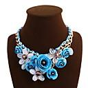 preiswerte Modische Halsketten-Damen Statement Ketten - Modisch Grün, Blau, Rosa Modische Halsketten Schmuck Für Alltag, Normal