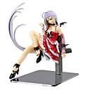 billige Anime actionfigurer-Anime Action Figurer Inspirert av Rosario and Vampire Cosplay PVC 15 cm CM Modell Leker Dukke