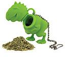 cheap Coffee and Tea-Silicone Creative Kitchen Gadget / Tea Dinosaur 1pc Filter / Tea Strainer / Daily