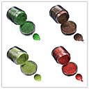 baratos Glitter para Unhas-1pcs Jóias de unha / Glitter & Poudre / Pó Glitters / Clássico / Glitter & Sparkle Diário Nail Art Design