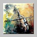 billige Sportssvømmetøj-Hang-Painted Oliemaleri Hånd malede - Sille Liv Moderne Lærred / Stretched Canvas