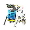 baratos Robôs-neje diy 14 em um robô movido a energia solar padrão bloco de construção de montagem