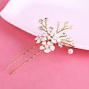 preiswerte Armband-Uhren-Perle / Krystall Haar-Stock / Haarnadel mit 1 Hochzeit / Besondere Anlässe Kopfschmuck