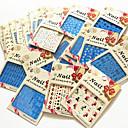 cheap Jewelry Sets-20 pcs Water Transfer Sticker nail art Manicure Pedicure Fashion Daily