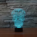 billige Originale lamper-1 stk 3D nattlys Usb Mulighet for demping 5 V