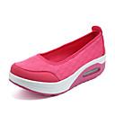 זול סניקרס לנשים-בגדי ריקוד נשים נעליים בד קיץ נעלי ספורט שטוח בז' / אפור / אדום