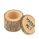 baratos Suporte para Lembrancinhas-Cilindro Madeira Suportes para Lembrancinhas com Caixas de Presente - 1