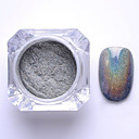 cheap Nail Glitter-2g box nail glitter powder shinning mirror eye shadow makeup powder dust nail art diy chrome pigment glitter