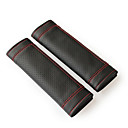 cheap DIY Car Interiors-Seat Belt Cover seat belt PU Leather For universal