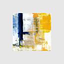baratos Botas Femininas-Pintura a Óleo Pintados à mão - Abstrato Modern Tela de pintura