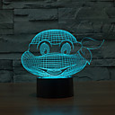cheap Night Lights-Endure God Turtle Touch Dimming 3D LED Night Light 7Colorful Decoration Atmosphere Lamp Novelty Lighting