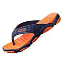 cheap Men's Slippers & Flip-Flops-Men's PU(Polyurethane) Summer Slippers & Flip-Flops Water Shoes Slip Resistant Gray / Green / Black / Red