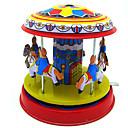 preiswerte Wind-up-Spielzeug-Aufziehbare Spielsachen Zum Stress-Abbau Spielzeuge Retro Neuartige Kreisförmig Pferd Karusell Eisen Metal Retro 1 Stücke Weihnachten