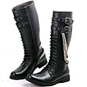 cheap Men's Boots-Men's Fashion Boots Customized Materials Spring / Fall / Winter Boots Black / Party & Evening