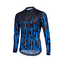 cheap Cycling Jerseys-Fastcute Men's Women's Unisex Long Sleeve Cycling Jersey Plus Size Bike Sweatshirt Jersey Top Breathable Quick Dry Reflective Strips Sports Coolmax® 100% Polyester Mountain Bike MTB Road Bike Cycling