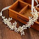 billige Festhovedtøj-imiteret perle hovedbånd hovedstykke klassisk feminin stil