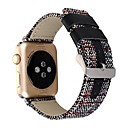 billige Smartur Tilbehør-Urrem for Apple Watch Series 4/3/2/1 Apple Klassisk spænde Stof Håndledsrem