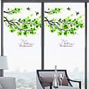 preiswerte Fensterfolie & Aufkleber-Bäume / Blätter Moderne Fensterfolie, PVC/Vinyl Stoff Fensterdekoration Esszimmer Schlafzimmer Büro Kinderzimmer Wohnzimmer Badezimmer