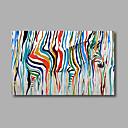 billige Innrammet kunst-Hang malte oljemaleri Håndmalte - Dyr Moderne Lerret
