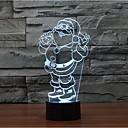 billige Originale lamper-1 stk 3D nattlys Dekorativ LED