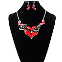 cheap Jewelry Sets-Women's Jewelry Set - Include Bridal Jewelry Sets Red / Blue For Wedding Party