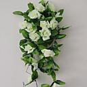 tanie Sztuczne kwiaty-Sztuczne Kwiaty 1 Gałąź Styl nowoczesny Róże Kwiaty na ścianę