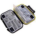 billige Fiskegrejer Kasser-Fiskegrejer Kasser Utstyrskasse Vanntett 1 Brett Plast 3 cm 11.5 cm